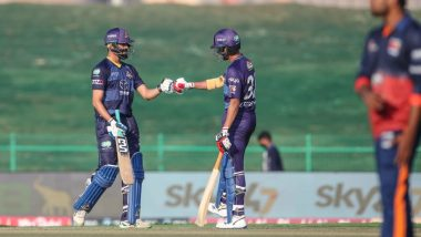 Abu Dhabi T10 2021 Match Result: Defending Champions Maratha Arabians Crash Out of Tournament After Losing to Deccan Gladiators