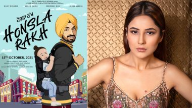 Honsla Rakh First Poster: Shehnaaz Gill Collaborates With Diljit Dosanjh For A Punjabi Film!