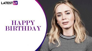 Emily Blunt Birthday Special: From The Girl on The Train to Sicario, 5 Popular Roles of the Actress You Should Not Miss! (LatestLY Exclusive)