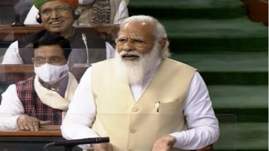 PM Narendra Modi Apprises Floor Leaders of Both Houses of Parliament on Govt Response to COVID-19