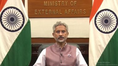 External Affairs Minister S Jaishankar at UNHCR, Says 'Terrorism Continues to Be One of the Gravest Threats to Humankind'