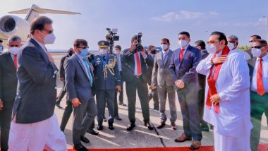 Pakistan PM Imran Khan Arrives in Sri Lanka on His Maiden Visit