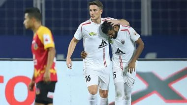 ISL 2020–21 Match Result: NorthEast United FC Inches Closer to Playoffs With 2–1 Win Against SC East Bengal