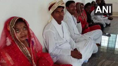 Chhattisgarh: 15 Surrendered Naxals Married at Ceremony Organised by Dantewada Police on Valentine's Day 2021