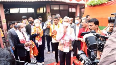 External Affairs Minister S Jaishankar Offers Prayers at Kamakhya Temple in Guwahati