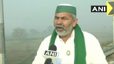 Farmers' Protests: BKU Leader Rakesh Tikait to Visit West Bengal on 13 March to Speak With Farmers