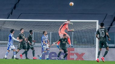 Europa League 2020–21: Manchester United Thrash Real Sociedad 4–0 in First Leg of Round of 32