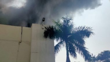 Pune: Fire Breaks Out at Manufacturing Factory in Sanaswadi