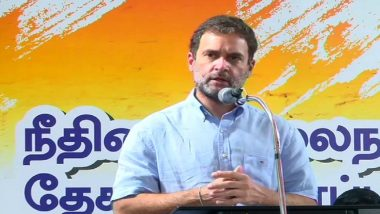 Tamil Nadu Assembly Elections 2021: RSS Has Destroyed Institutional Balance, Says Rahul Gandhi in Thoothukudi