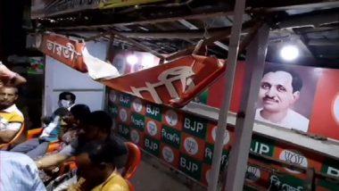 West Bengal: BJP Office in Baranagar Vandalised, TMC Blamed
