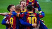 Sevilla vs Barcelona, Copa Del Rey 2020–21 Live Telecast & Free Streaming Online in IST: How To Watch Semi-Final Second-Leg Encounter on TV in India With Live Football Score Updates