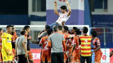 FCG 0-0 HFC, ISL 2020-21 Match Result: FC Goa Hold Hyderabad FC to Enter Playoffs, Set New Unbeaten Record