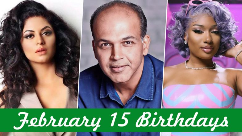 February 15 Celebrity Birthdays: Check List of Famous Personalities Born on Feb 15