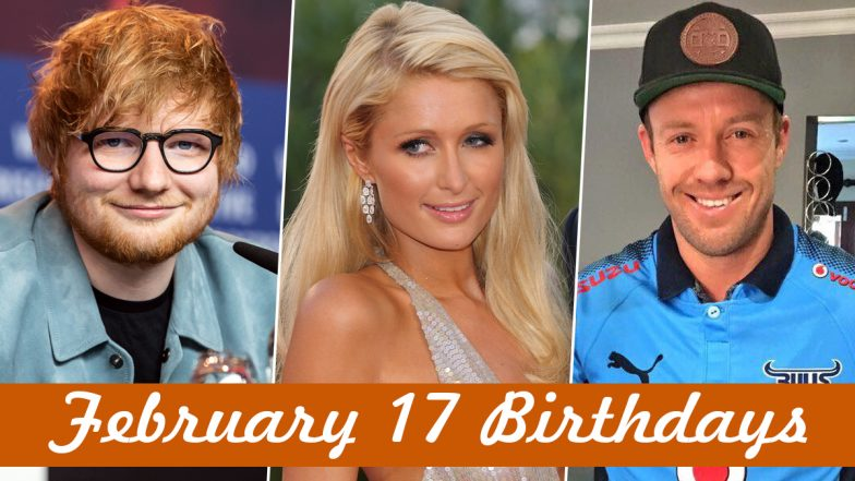 February 17 Celebrity Birthdays: Check List of Famous Personalities Born on Feb 17