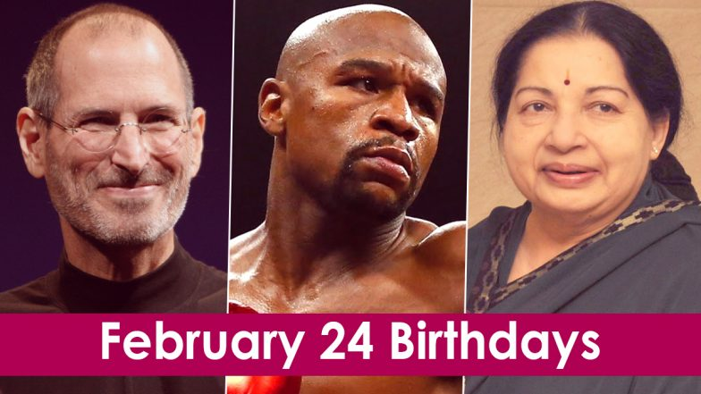 February 24 Celebrity Birthdays: Check List of Famous Personalities Born on Feb 24
