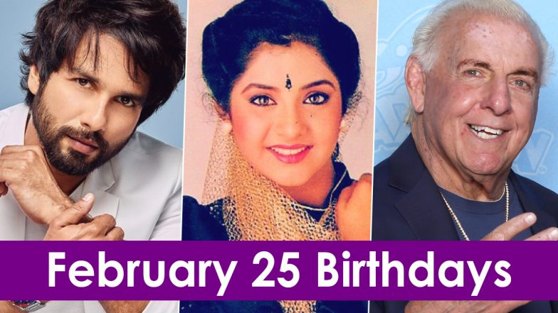 February 25 Celebrity Birthdays: Check List of Famous Personalities Born on Feb 25