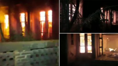 Maharashtra: Fire Breaks Out at Thane MSED Office in Khajuri Area, No Casualty Reported