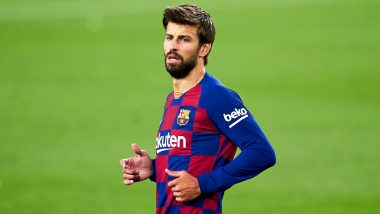 Gerard Pique Named in Barcelona Squad for Champions League Clash Against PSG After Recovering from Knee Injury