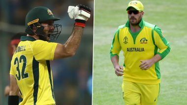 Glenn Maxwell Devastated as Aaron Finch's Wife Amy Receives Online Threats
