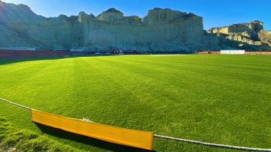 ICC Shares Beautiful Pictures of Picturesque Gwadar Cricket Stadium in Balochistan, Fans React
