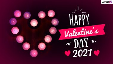 Valentine's Day 2021 Images & HD Wallpapers for Free Download Online: Wish Happy Valentine's Day With WhatsApp Stickers and GIF Greetings