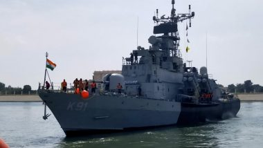 Cyclone Gulab: Indian Naval Ships, Aircraft on Standby For Cyclonic Storm