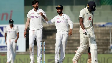 Ishant Sharma Becomes Third Indian Pacer to Take 300 Test Wickets, Joins Kapil Dev and Zaheer Khan