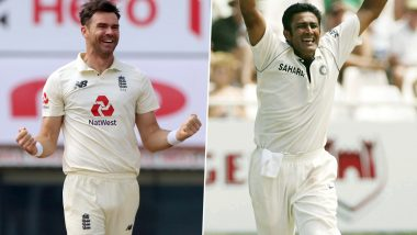 James Anderson Can Displace Anil Kumble as Third Highest Wicket-Taker in Test Cricket in Ongoing India vs England Series 2021