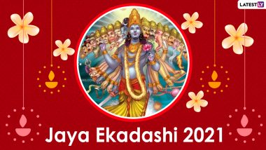 Jaya Ekadashi 2021 Wishes and WhatsApp Stickers: Devotional Facebook Messages, Lord Vishnu HD Images, Telegram Greetings and Signal Photos to Worship Lord Vishnu