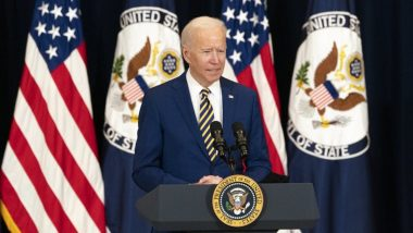 US President Joe Biden Announces 200 Million COVID-19 Vaccine Dose Goal Being Met, Calls It American Achievement