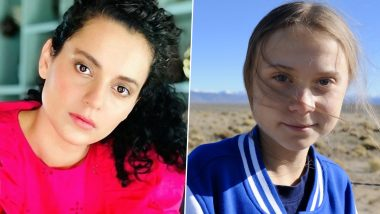 Kangana Ranaut Calls Greta Thunberg 'Dumb and a Spoilt Brat' After She Tweets in Support of Farmers' Protest in India