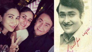 Randhir Kapoor Birthday: Kareena Kapoor Khan Wishes Father With Adorable Throwback Pic