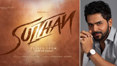 Sulthan: Teaser Of Karthi's Upcoming Action Entertainer To Release On February 1! (View Poster)