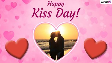 Kiss Day 2021 HD Images & Wallpapers: Wishes, Facebook Greetings, GIF Messages, WhatsApp Stickers & SMS to Celebrate the Most Romantic Day of Valentine Week