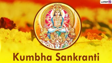 Kumbha Sankranti 2021 Date, Shubh Muhurat and Significance: Know Auspicious Timings, Puja Rituals and Celebrations of the Day