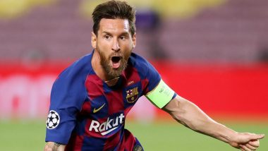 Lionel Messi Included in 22-Member Barcelona Squad Against Sevilla FC, Check Starting XI for SEV vs BAR