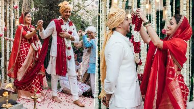 Dia Mirza Shares Unseen Photos from Her Wedding with Vaibhav Rekhi (See Pics)