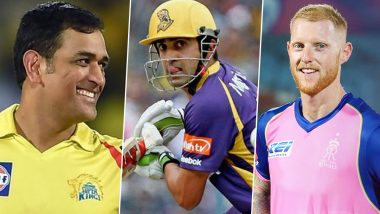 IPL Most Expensive Players: From MS Dhoni to Ben Stokes, Full List of Record Buys in Each Indian Premier League Season Ahead of IPL 2021 Players Auction