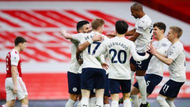 Premier League 2020-21: Manchester City Earns 18th Straight Win, Tottenham Hotspurs Lose Again in EPL