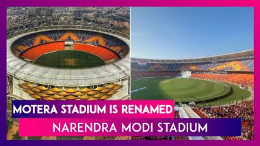 Motera Stadium Is Renamed Narendra Modi Stadium: Who Said What As Congress Slams BJP