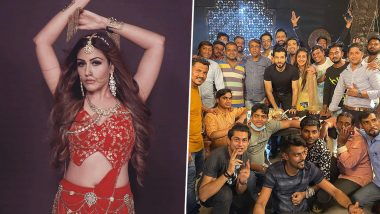 Naagin 5: Surbhi Chandna, Sharad Malhotra, Mohit Sehgal Pose With Their Team As They Wrap Up the Supernatural Series (View Pic)