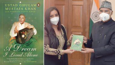 Ghulam Mustafa Khan's Daughter-In-Law Namrata Gupta Khan Meets President Ram Nath Kovind to Present Her Book Based on Late Singer's Life