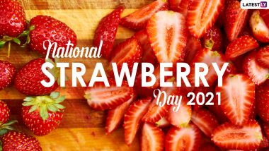 National Strawberry Day 2021 (US): From Fruit That Wear Seeds on Outside to Being Member of Rose Family, Here Are 11 Fun Facts About This Delicious Berry