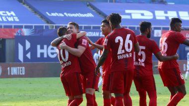 NorthEast United FC 3-3 Chennaiyin FC, ISL 2020-21 Match Result: Highlanders Score Late to Hold Chennaiyin to Draw