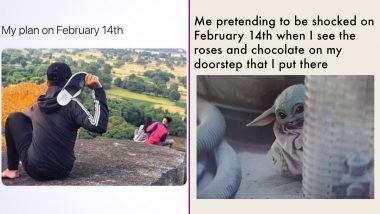 Valentine's Day 2021 Funny Memes and Jokes: From Bajrang Dal to Single on February 14, Hilarious Posts That Will Make You Feel Less Bad About Not Having a Date!