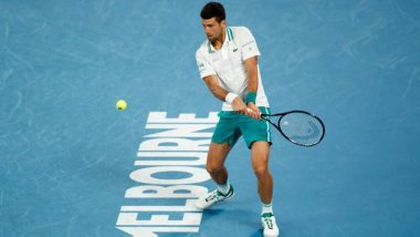 Australian Open 2021: Novak Djokovic Registers 300th Grand Slam Win to Advance to Quarter-Finals of Tournament