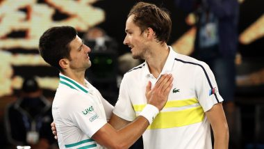 Novak Djokovic, Daniil Medvedev React After Thrilling Australian Open 2021 Men's Singles Final (See Posts)