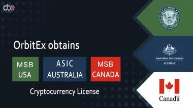 OrbitEX Obtaining MSB License in US, Canada and Australia, Proceeding Its Globalizing Strategy