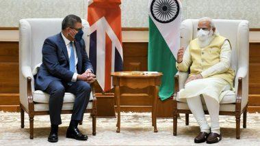 PM Narendra Modi Meets COP26 President Alok Sharma, Discusses India-UK Cooperation on Climate Change Agenda