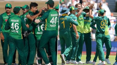 Pakistan vs South Africa 1st T20I 2021 Live Streaming Online on SonyLiv: Get PAK vs SA Cricket Match Free TV Channel and Live Telecast Details on PTV Sports